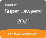 Rated by SuperLawyers 2021